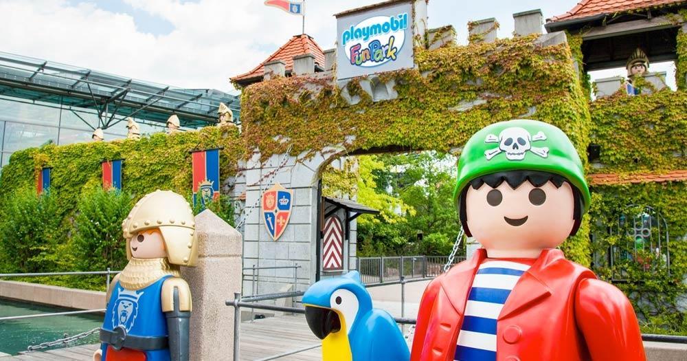 PLAYMOBIL-FunPark - Eingang