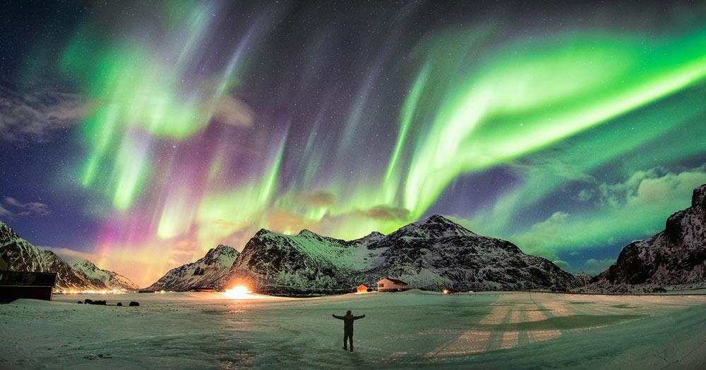 Lofoten - Nordlichter