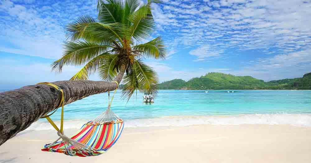 Seychellen - Ausblick auf das traumhafte Meer