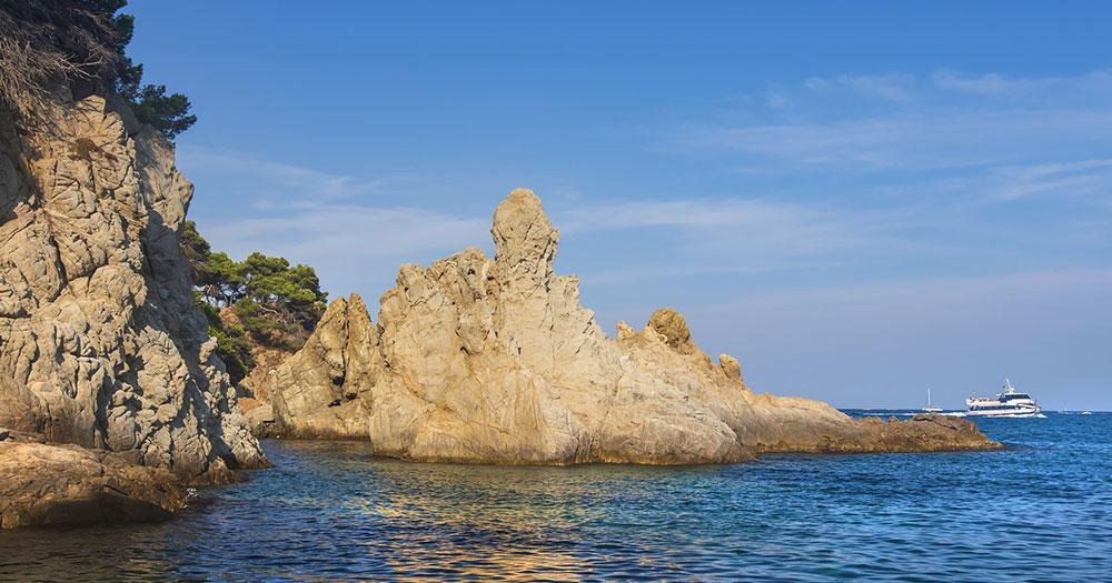 Alanya - Steinküste