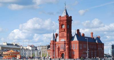 Cardiff - Bay Pier-head Building