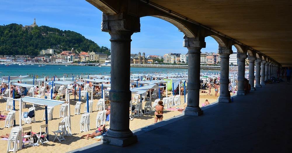 San Sebastian - Strandpromenade