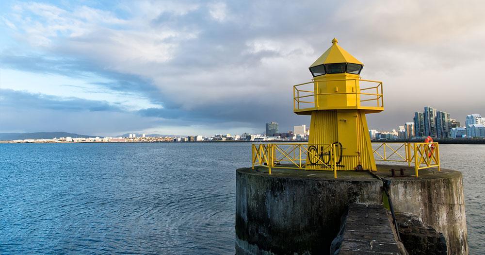 Reykjavik - Leuchtturm