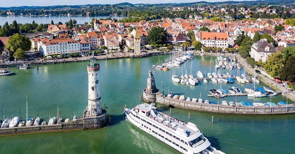 Bodensee - Lindau Hafen