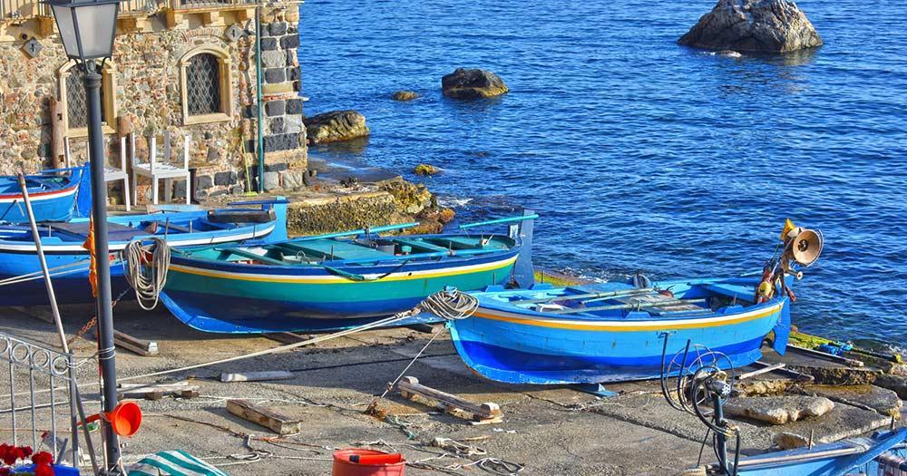 Reggio Calabria - Blick auf den Hafen