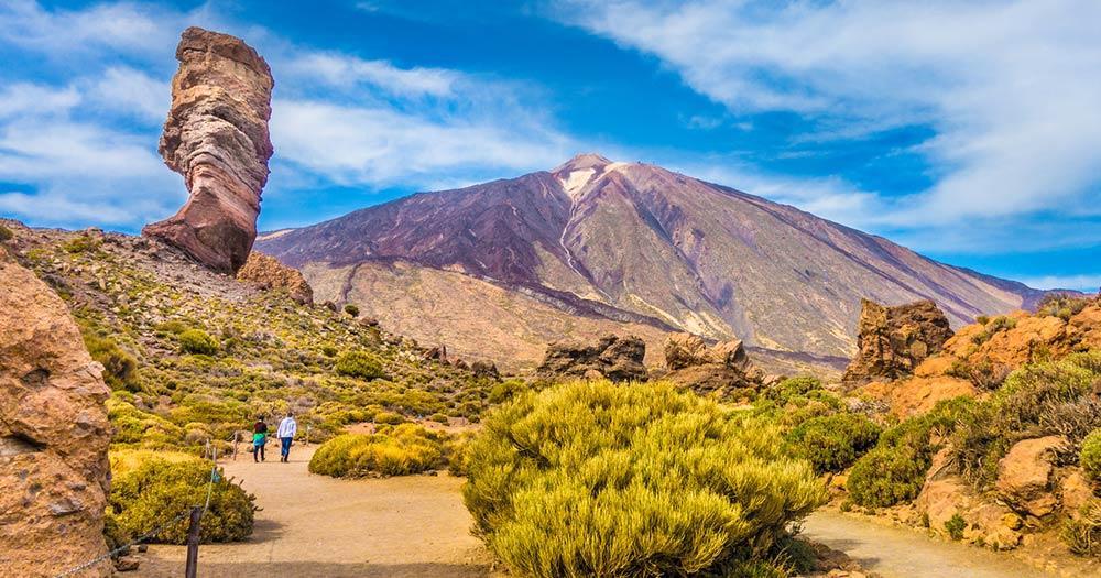 La Gomera - Pico del Teide mit Roque Cinchado