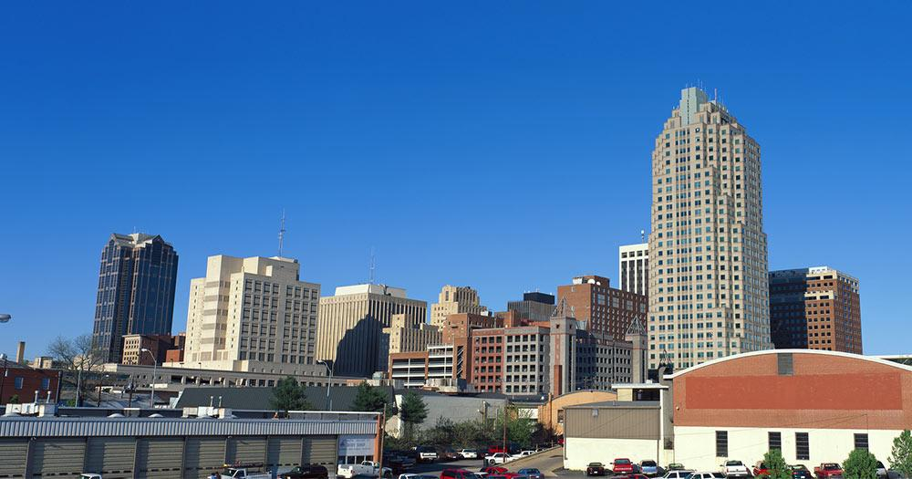 Memphis - Skyline der Stadt