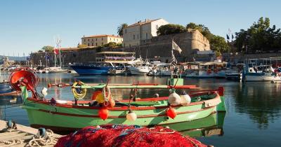 Korsika - Hafen von Ajaccio