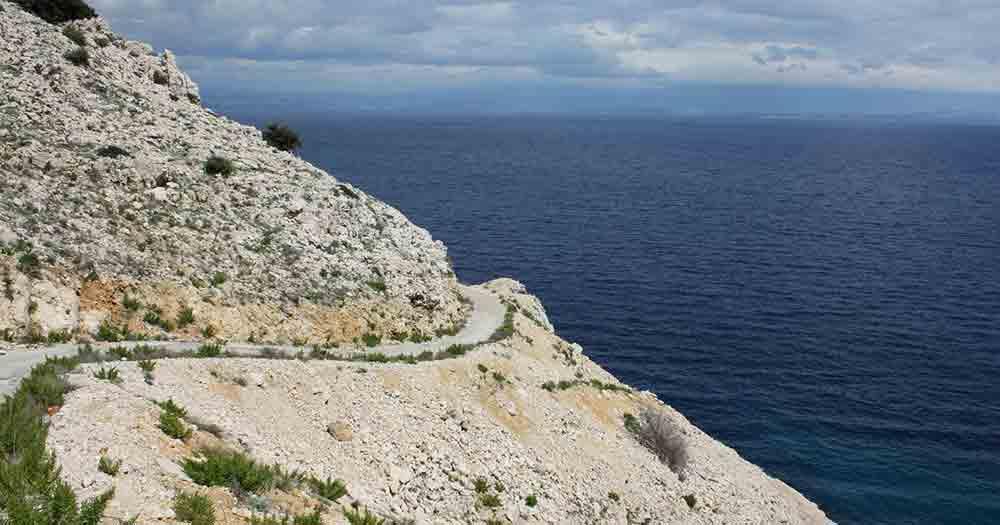 Palagruza - Ausblick auf die Landschaft
