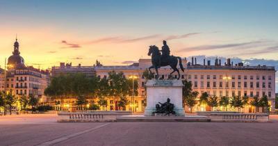 Lyon - Panaorama vom Platz