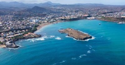 Kap Verde - Blick auf Santiago