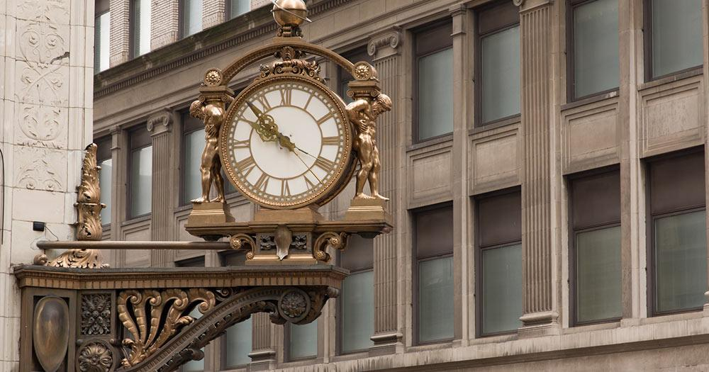 Pittsburgh - Downtown Clock
