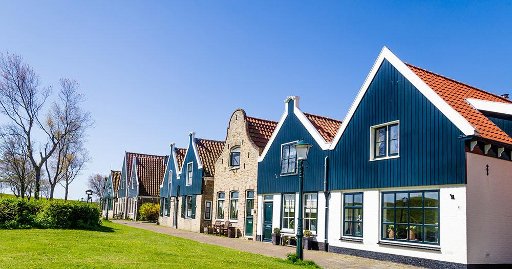 Texel - traditionelle Häuser