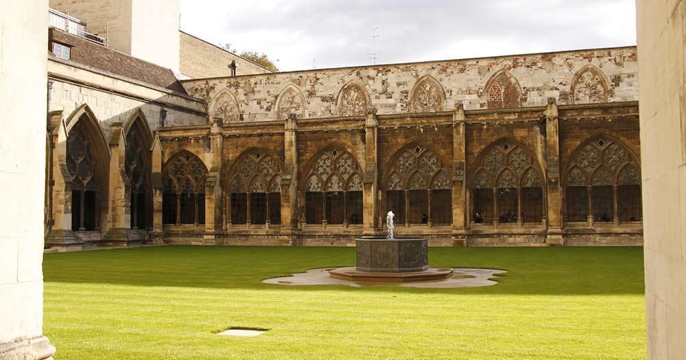 Westminster Abbey - Innenhof