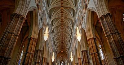Westminster Abbey - Säulenhalle