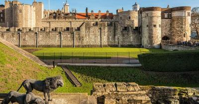 Tower of London - Gartenansicht