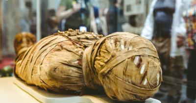 British Museum - ägyptische Mumie