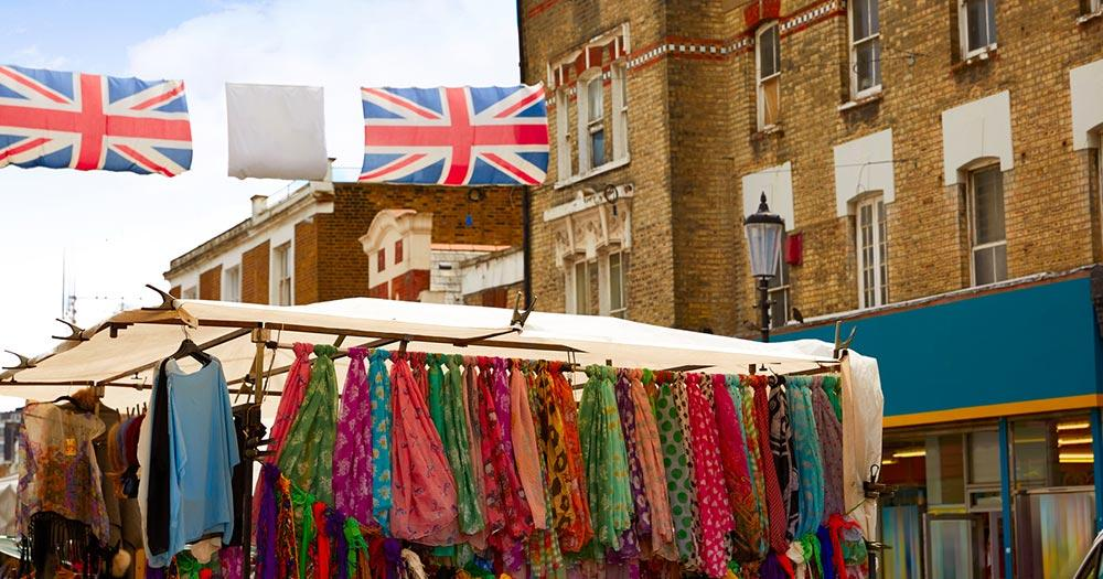 Portobello Road Market - Flohmarkt