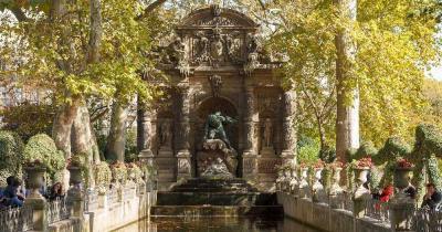 Jardin du Luxembourg - der Medici Brunnen