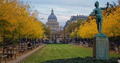 Jardin du Luxembourg - Blick auf den Pantheon