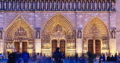 Notre-Dame de Paris - Vorderansicht