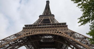 Eiffelturm - Blick von unten