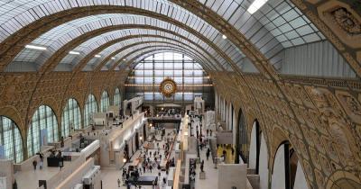 Musée d'Orsay - Blick in die Halle