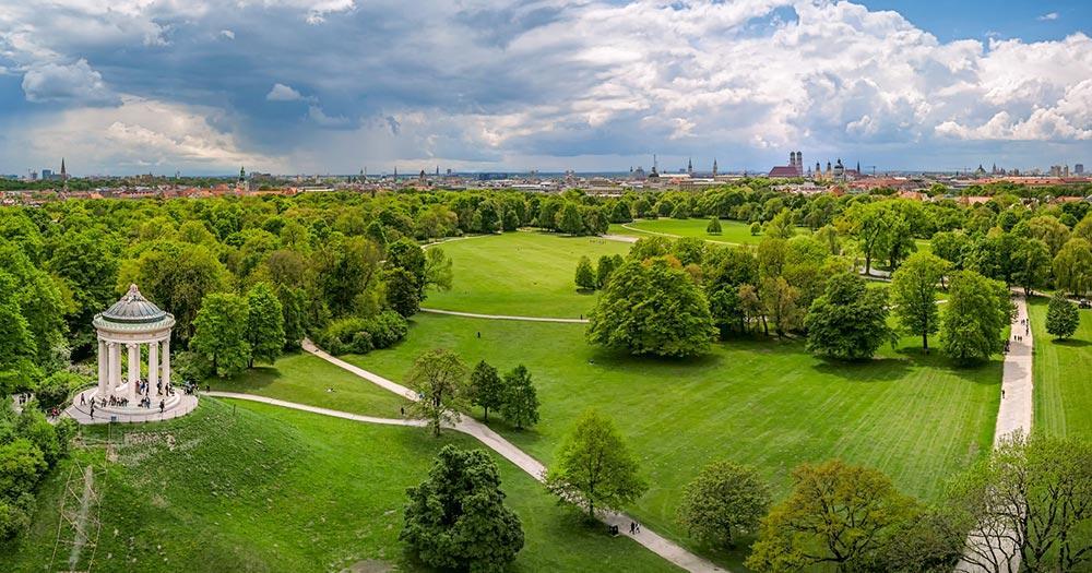 Englischer Garten Bei Reise Und Urlaubsziele