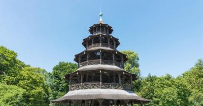 Englischer Garten - der Chinesische Turm