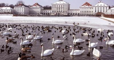 Schloss Nymphenburg - im Winter