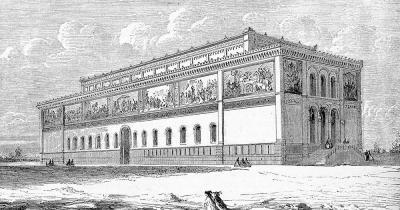 Alte Pinakothek - Alte Ansicht