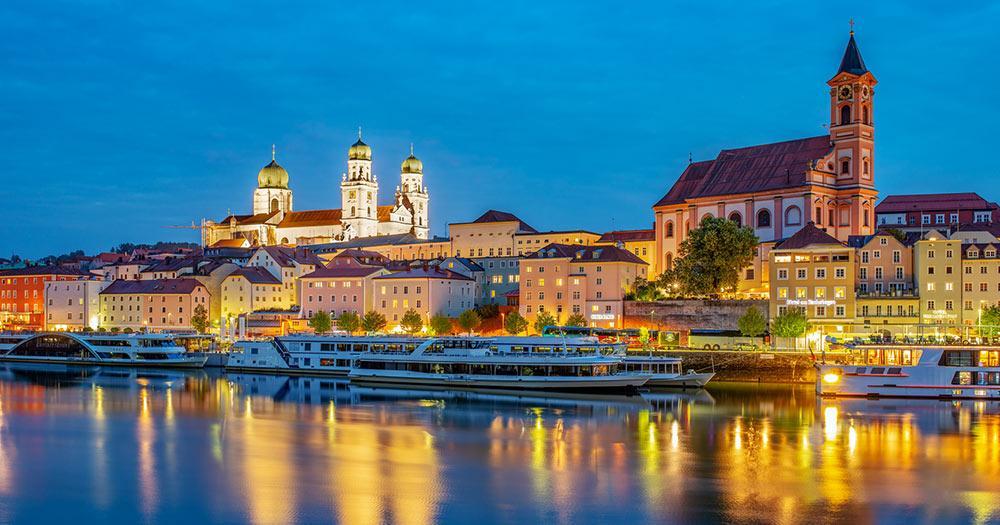 Passau - zur blauen Stunde