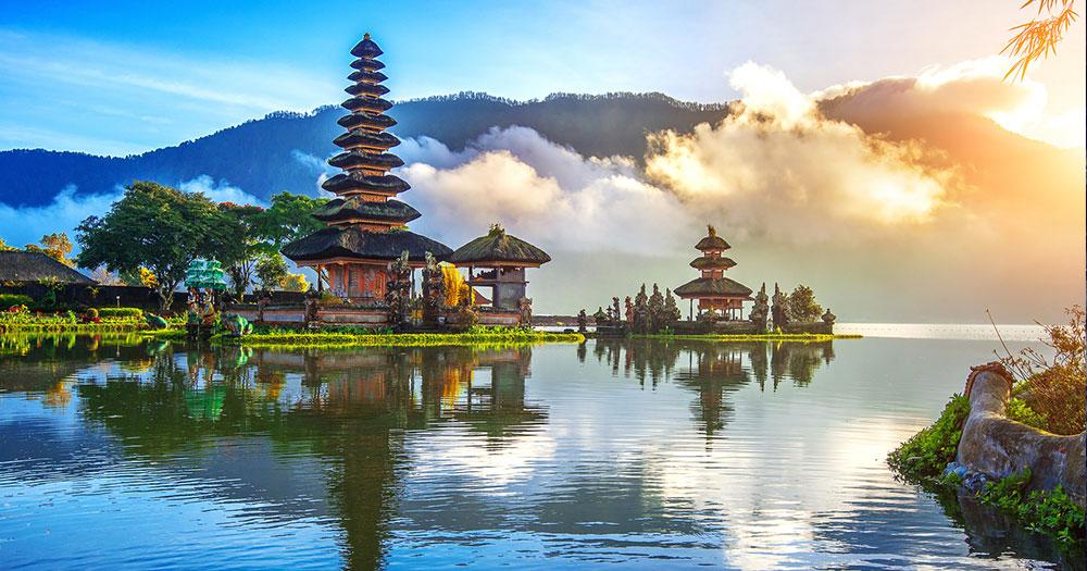 Bali - Pura Ulun Danu Bratan Tempel