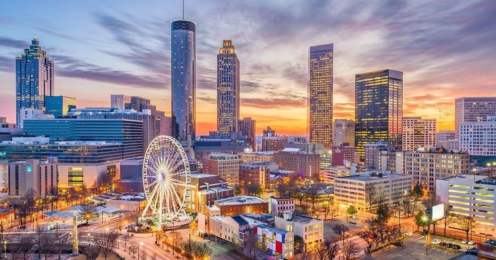 Atlanta - in der Abendsonne