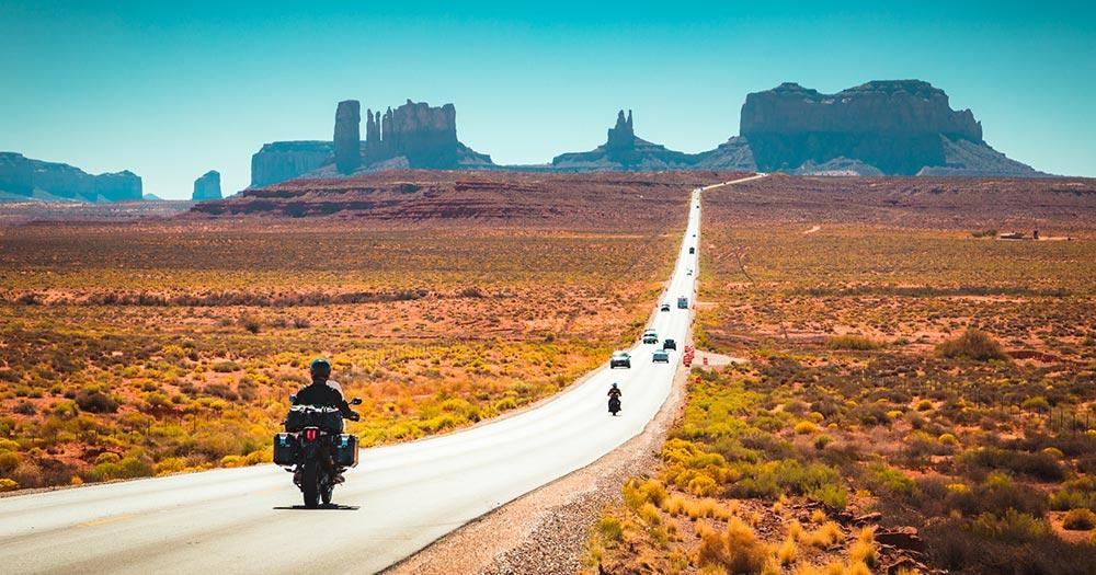Route 66 - Monument Valley
