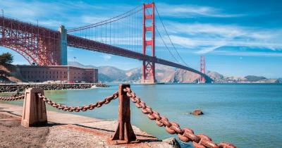 Golden Gate Bridge - Fort Point mit Brücke