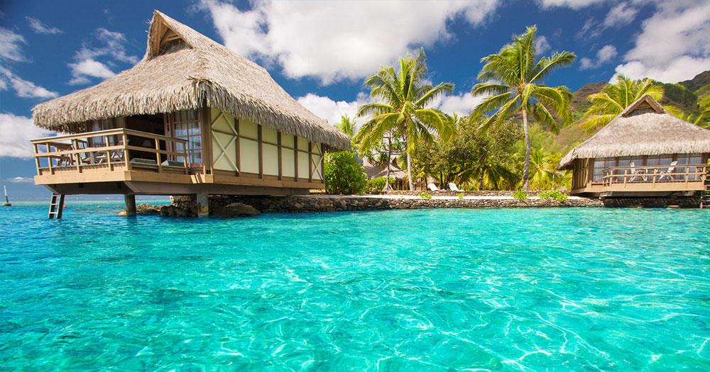 Malediven - Stelzenbungalows