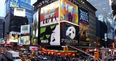Broadway-Shows - Musical Werbung