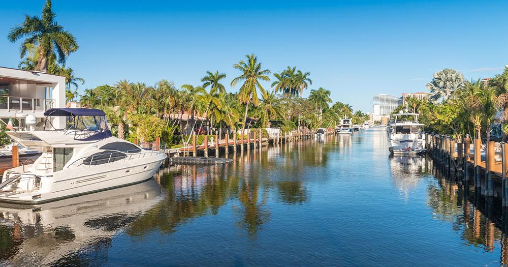 Florida - Yachtstrassen von Fort Lauderdale