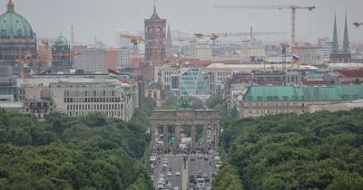 Brandenburger Tor - Luftaufnahme