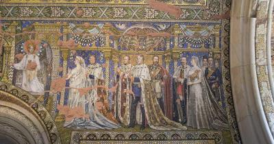 Kaiser-Wilhelm-Gedächtniskirche - Fresken