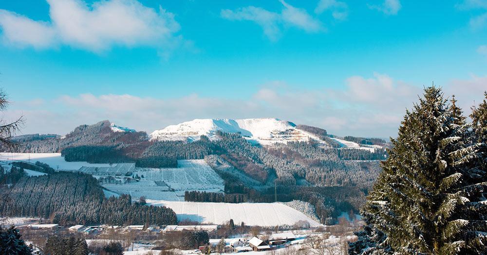 Winterberg - Aussicht auf Sauerland