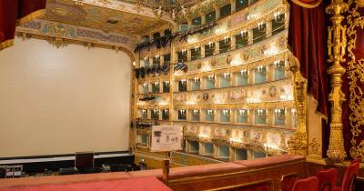 Teatro La Fenice - Blick auf die Bühne