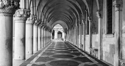 Dogenpalast - Säulengang