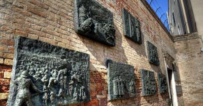 Ghetto - jüdisches Denkmal