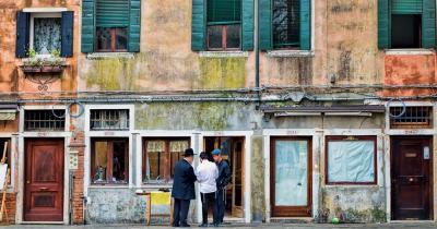 Ghetto - Menschen im jüdischen Viertel