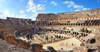 Kolosseum -  Innenaufnahmen