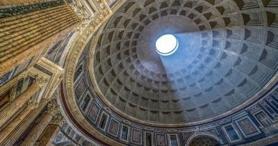 Pantheon - Licht durch die Kuppel
