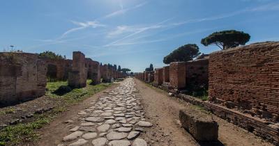 Via Appia Antica - die Steinplatten