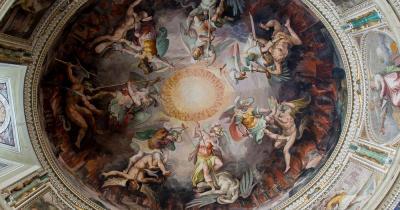Vatikanische Museen - Kuppelgemälde